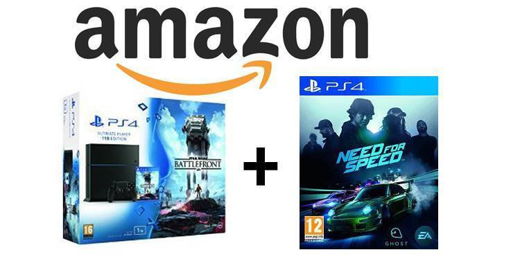 Bundle PlayStation 4 (PS4) + Star Wars Battlefront in offerta su Amazon!
