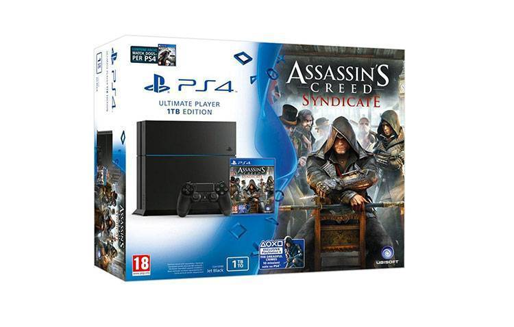 Bundle PlayStation 4 (PS4) + Assassin's Creed Syndicate in offerta su ebay a 358€!