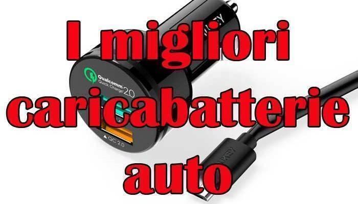 caricabatterie auto