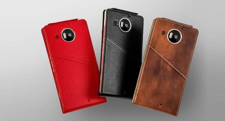 Microsoft Lumia 950 e 950 XL: da Mozo nuove flip cover in pelle