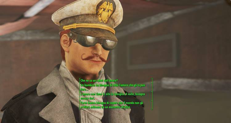 fallout 4 nexus mods mod Full Dialogue Interface italiano