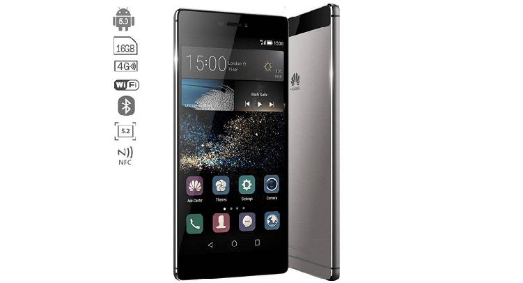 Huawei P8 16GB, colore Titanium Gray in offerta a 349€!