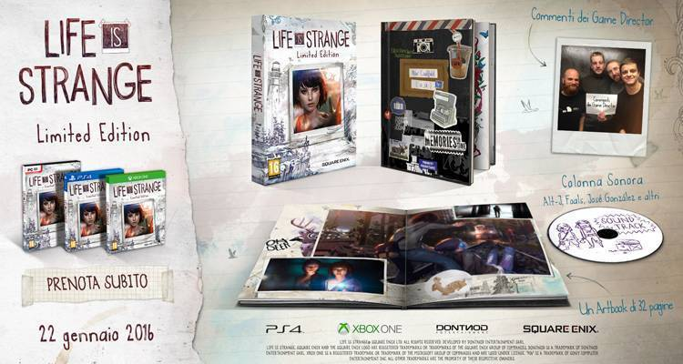 Life is strange fisica retail