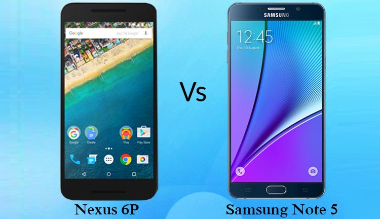 Samsung Galaxy Note 5 batte Nexus 6P: display più efficiente