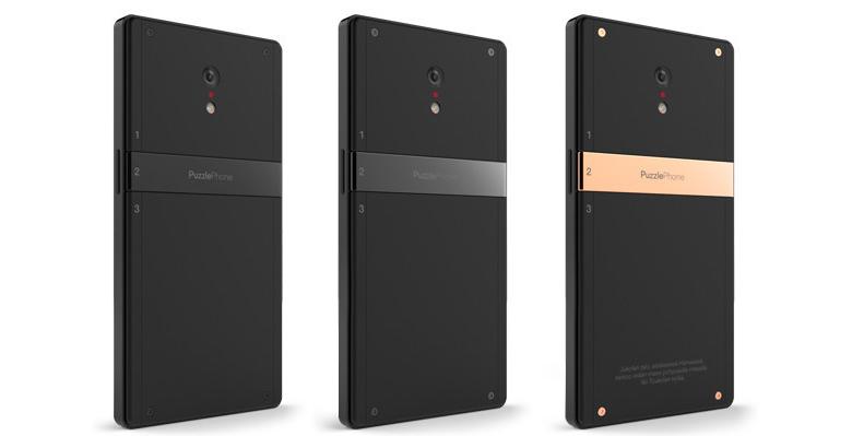 PuzzlePhone, lo smartphone modulare alla ricerca di fondi