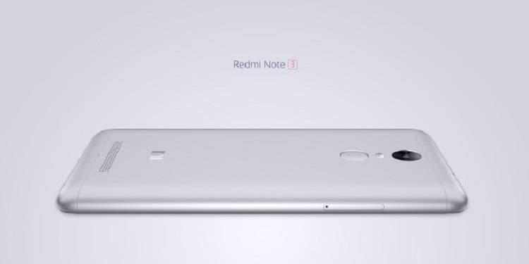 Xiaomi Redmi Note 3, ecco le caratteristiche ufficiali