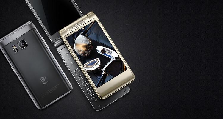 Samsung W2016, top di gamma della linea flip phone