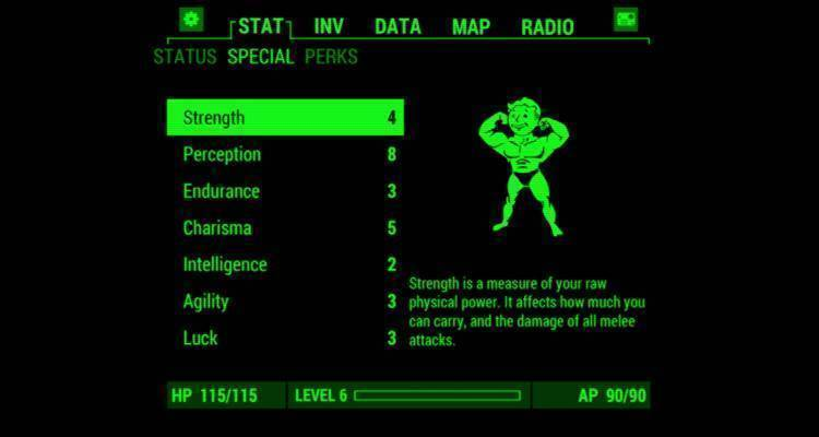Fallout 4 Pip-Boy App su Android