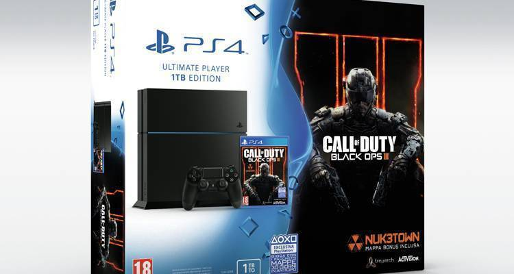 unieuro bundle playstation 4 call of duty black ops 3