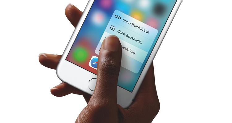 Apple ora punta sul 3D Touch anche per iPad
