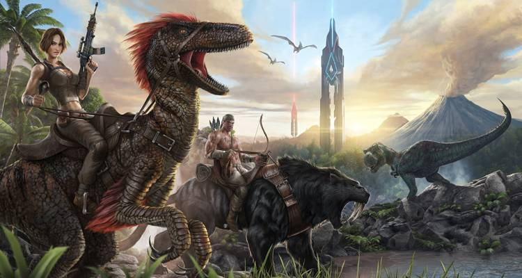 ARK Survival Evolved arriva su Xbox One