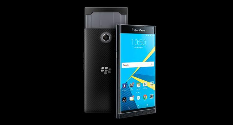 BlackBerry Priv riceve un nuovo aggiornamento software