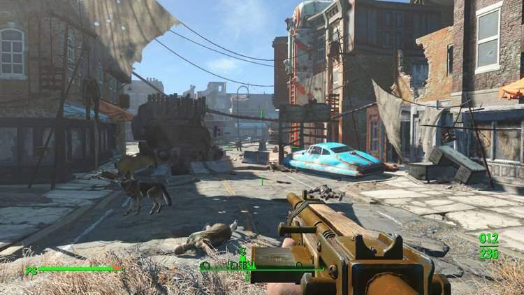 Fallout 4 diventa un Survival