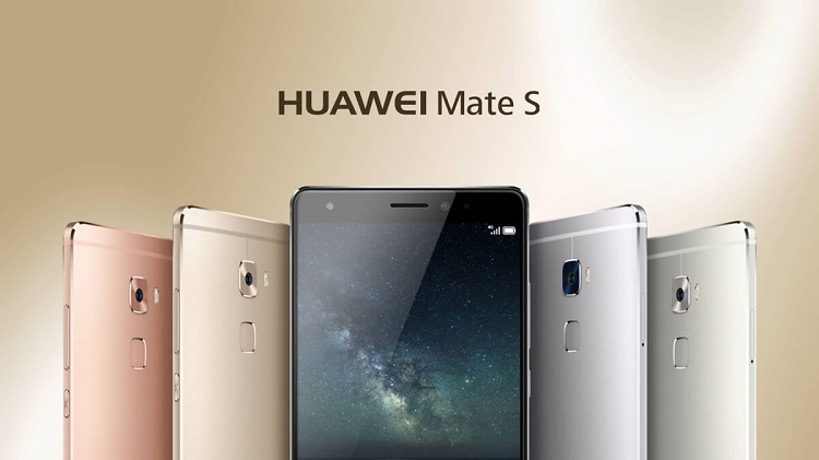 Huawei Mate S Press Touch arriva in Italia a 799.90€
