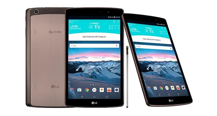 LG G Pad II 8.3 LTE è ufficiale con pennino e USB 2.0!