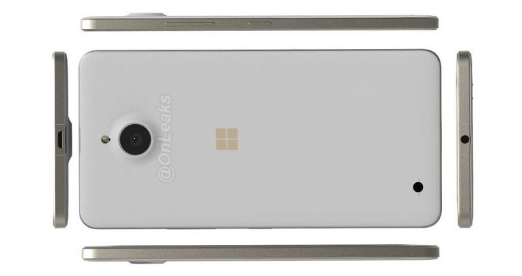 Microsoft Lumia 850: primi render e specifiche