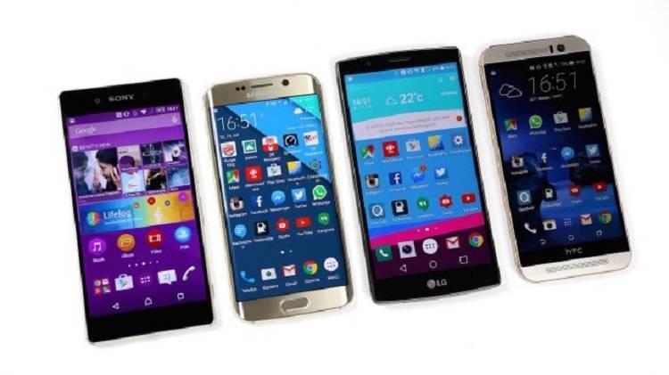 Nuovi smartphone Samsung, LG, HTC e Sony in arrivo ad inizio 2016