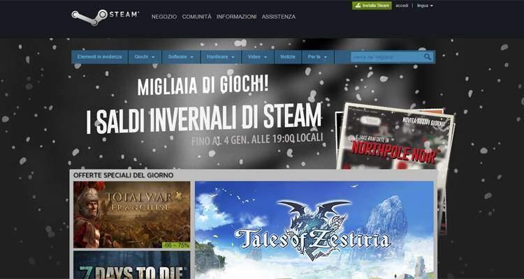 Valve spiega cosa è accaduto su Steam a Natale