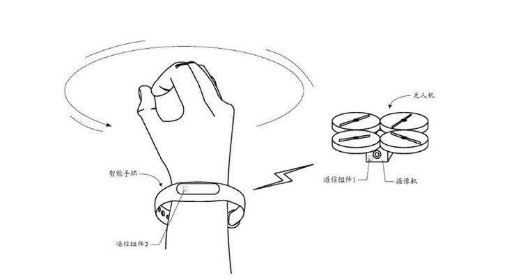 Xiaomi ci prova: presto un drone comandabile da smartband?