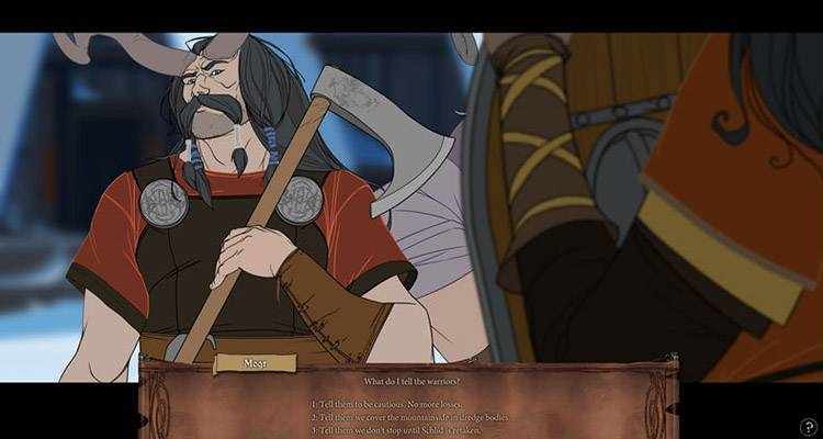 The Banner Saga PS4 Xbox One Recensione 005