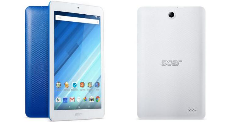 Acer Iconia One 8, presentato il nuovo tablet da 129€