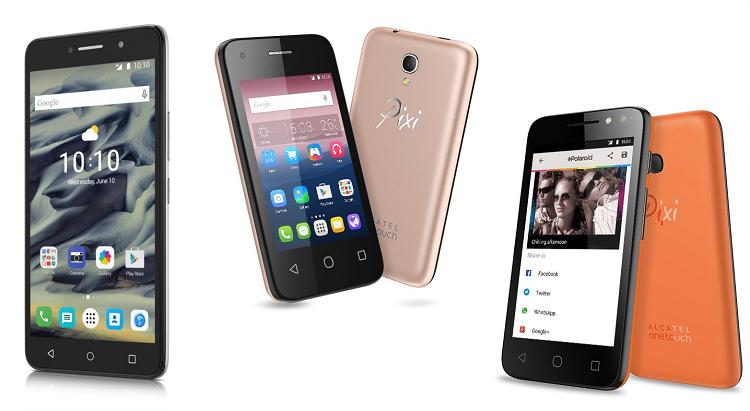 Acatel OneTouch: ufficiale la serie di device Pixi 4