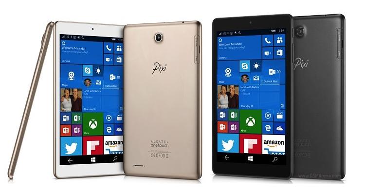 Alcatel Pixi 3 ufficiale: il tablet Windows 10 Mobile che telefona!