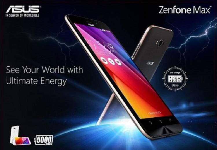 Asus Zenfone Max, avviati i preordini in India