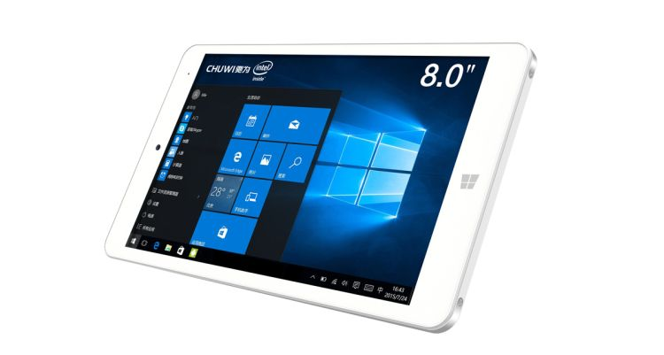 Chuwi Hi8 Pro, tablet Windows 10 e Android con Cherry Trail