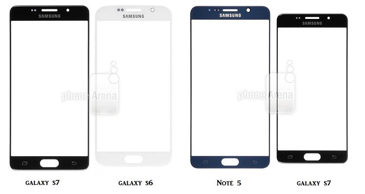 Samsung Galaxy S7, netta somiglianza con Note 5?