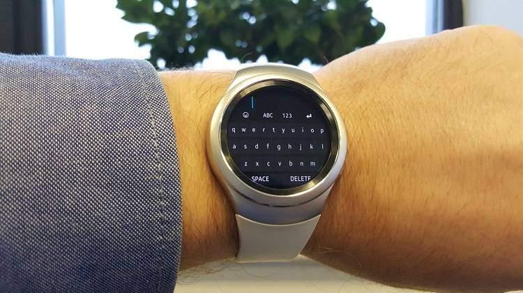Samsung Gear S2, spazio anche alla tastiera Qwerty