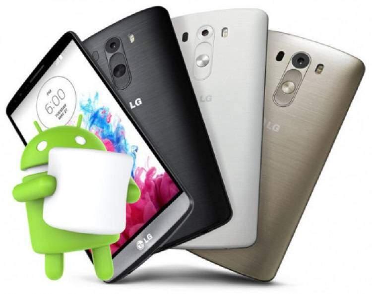 LG G3, aggiornamento Android 6.0 Marshmallow vicinissimo?
