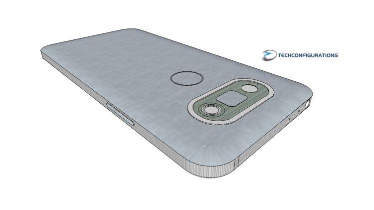 LG G5, render 3D e presunte specifiche tecniche