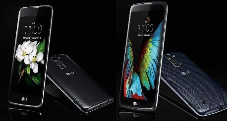 LG al CES 2016: presentati in via ufficiale LG K7 e LG K10