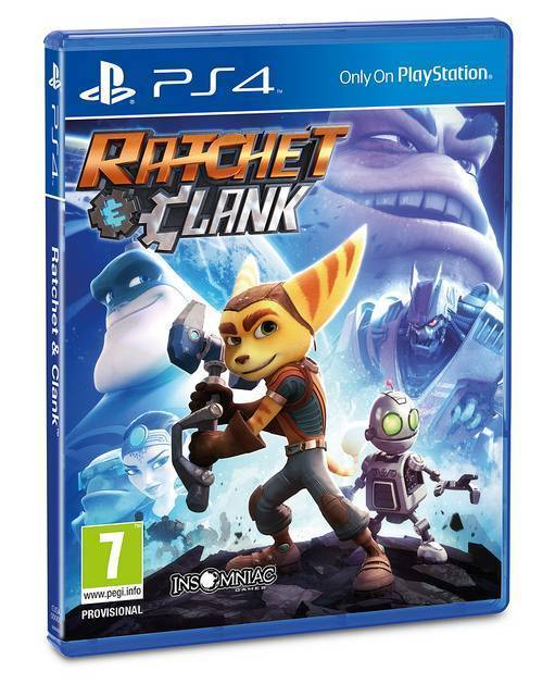 ratchet and clank ps4 cover