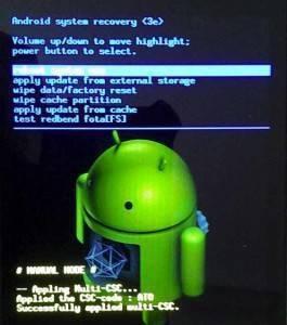 formattare android