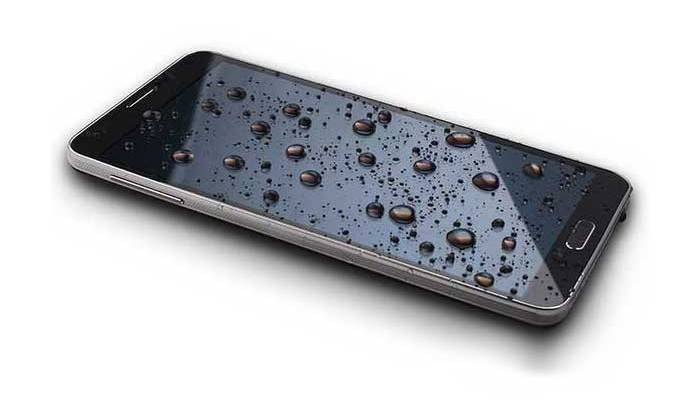 smartphone caduto
