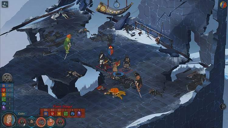 the banner saga gameplay