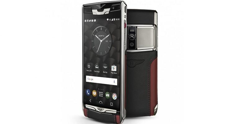 Vertu Signature Touch for Bentley, lo smartphone da 17mila euro