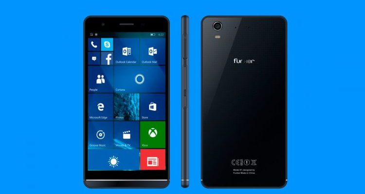 Funker W5.5 Pro, device Windows 10 Mobile resistente all'acqua!
