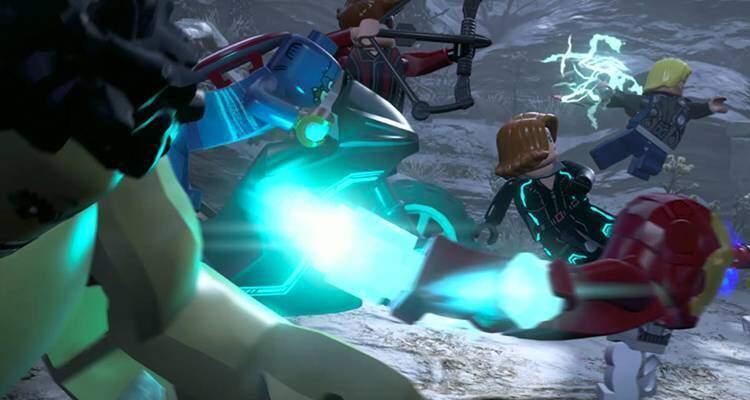 LEGO Marvel Avengers Recensione