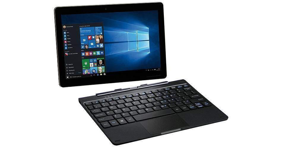 Mediacom X201 – Recensione: il 2 in 1 economico, con Windows 10 e con il 3G
