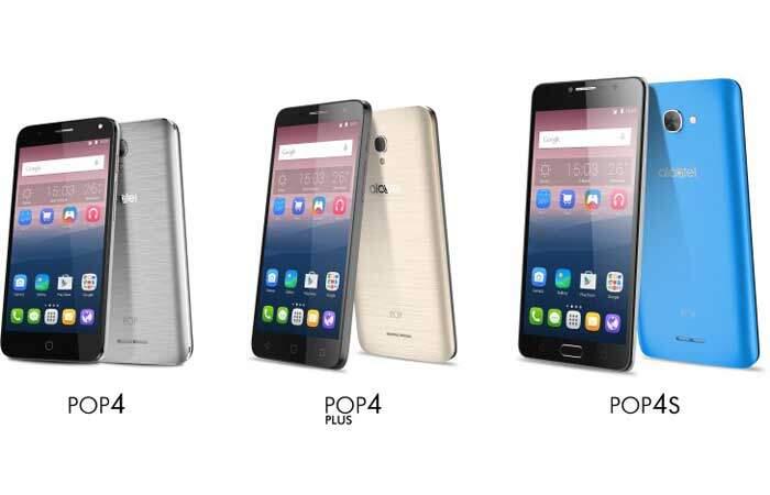 Alcatel POP 4, nuova serie di smartphone Android economici ufficiale!