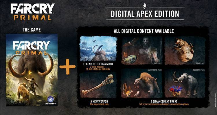 Ma Far Cry Primal non ha un Season Pass?