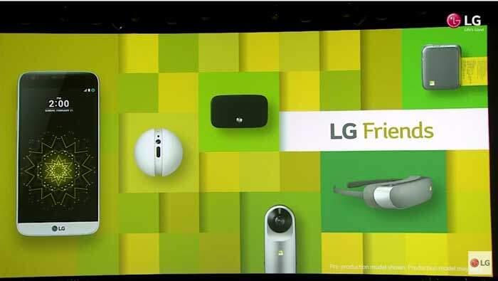 LG G5 Friends ufficiali: ecco cosa sono