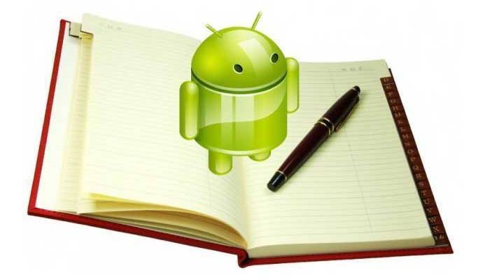 rubrica android