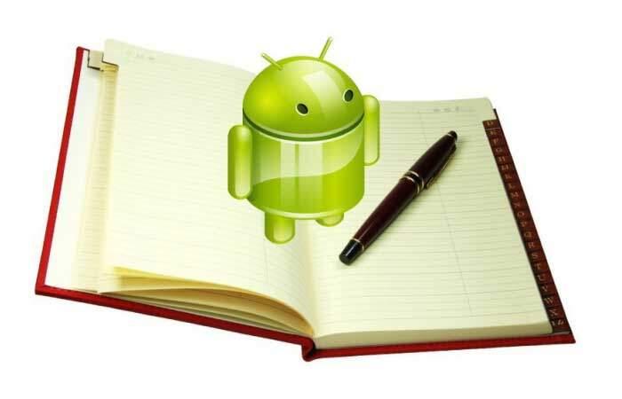 Come salvare e trasferire i contatti della rubrica Android