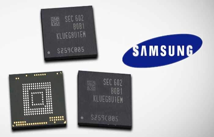 Samsung: ufficiale storage UFS 2.0 da 256 GB per mobile