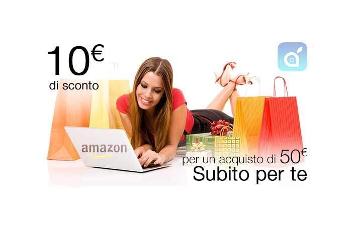 Come ottenere un buono sconto Amazon di 10€