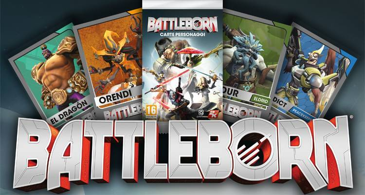 Battleborn: le carte collezionabili dei personaggi